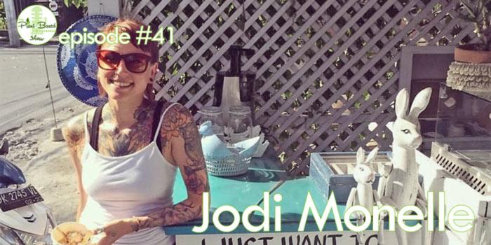 Episode #41: Jodi Monelle – Live Kindly